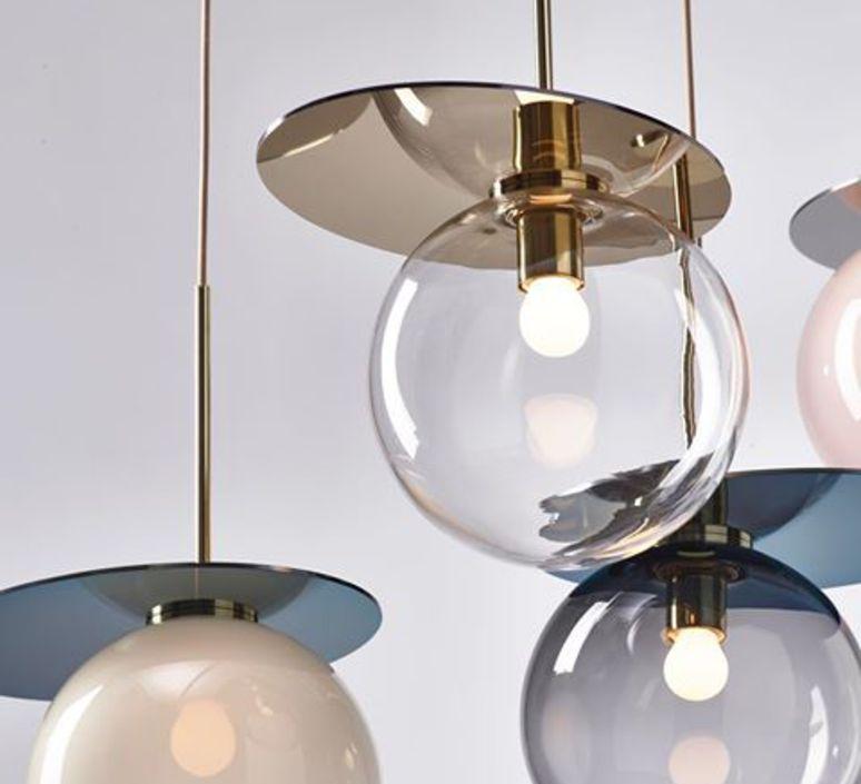 Umbra studio dechem suspension pendant light  bomma 1 80 95111 1 00gre 350 b  design signed 47403 product