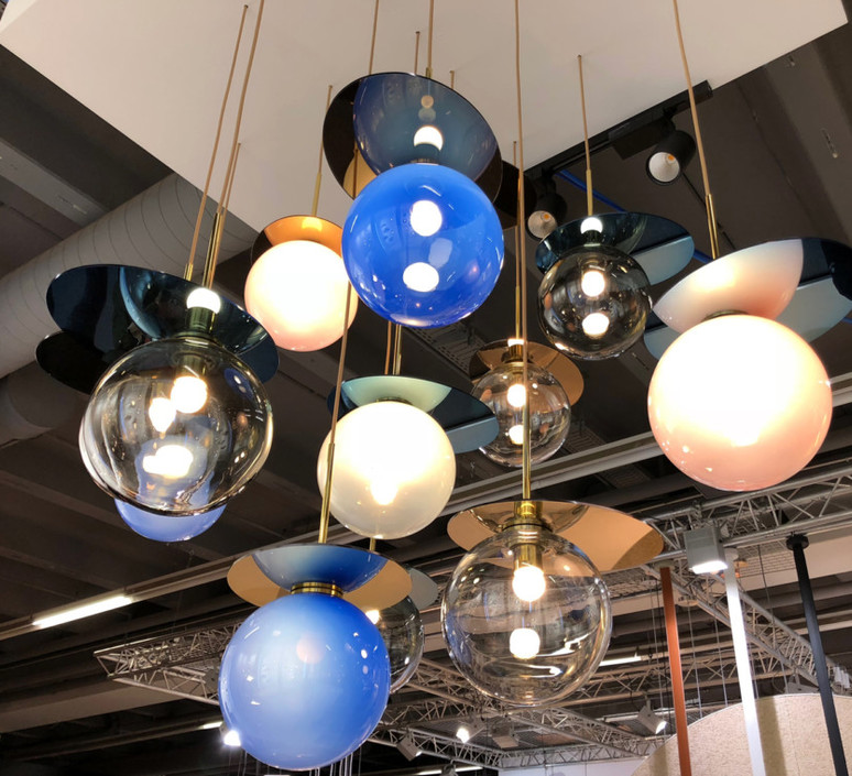 Umbra studio dechem suspension pendant light  bomma 1 80 95111 1 00gre 350 b  design signed 47404 product