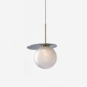 Suspension umbra gris blanc o35cm h47cm bomma normal