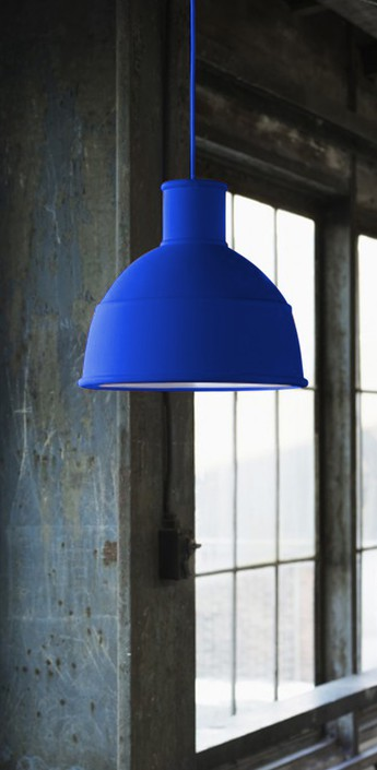 Suspension unfold bleu o32 5cm h29 5cm muuto normal