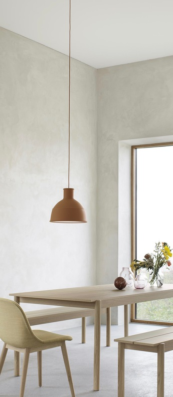 Suspension unfold marron o32 5cm h29 5cm muuto normal
