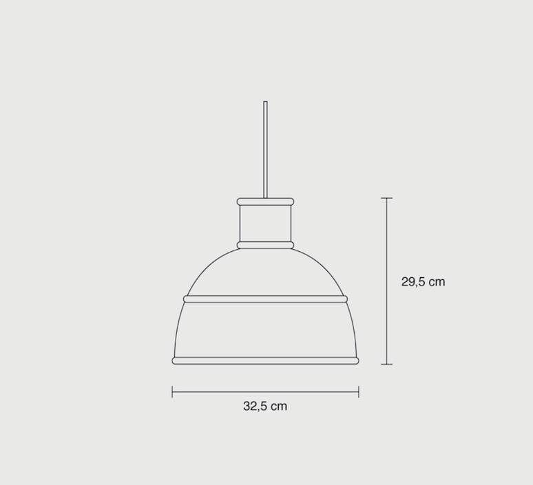 Unfold studio form us with love suspension pendant light  muuto 09016  design signed 48387 product