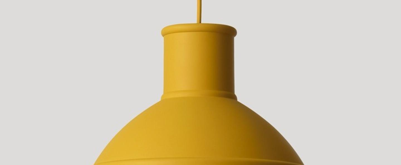 Suspension unfold moutarde o32 5cm h29 5cm muuto normal