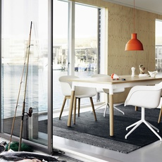 Unfold form us with love suspension pendant light  muuto 09008  design signed 33675 thumb