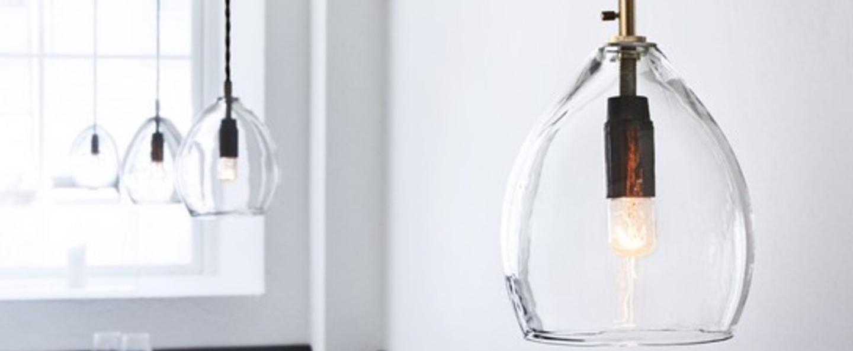 Suspension unika transparent h13 5cm northern lighting normal