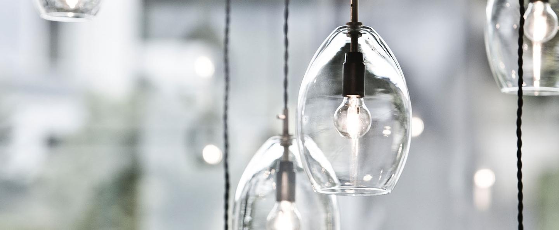 Suspension unika transparent h20cm northern lighting normal