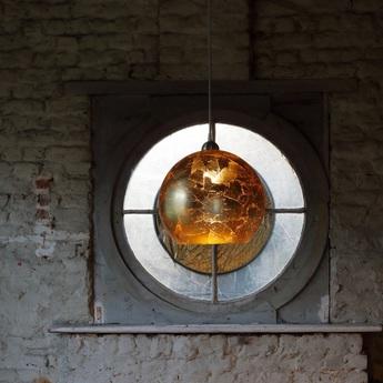 Suspension universe cuivre o30cm hind rabii normal