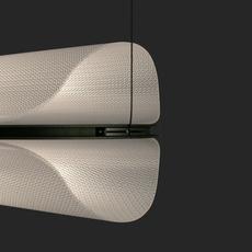 Vale 1 dali  caine heintzman suspension pendant light  andlight val 1 p clr ant 27 dal 230  design signed nedgis 89848 thumb