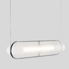 Vale 1 dali  caine heintzman suspension pendant light  andlight val 1 p clr ant 27 dal 230  design signed nedgis 89851 thumb