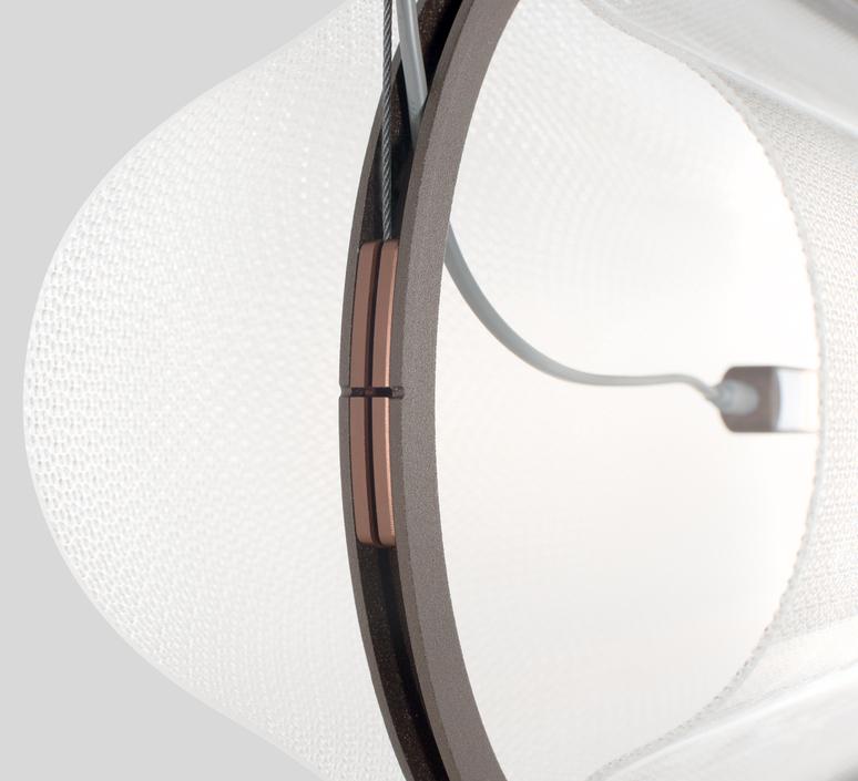 Vale 1 dali  caine heintzman suspension pendant light  andlight val 1 p clr rst 27 dal 230  design signed nedgis 89923 product
