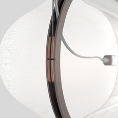 Vale 1 dali  caine heintzman suspension pendant light  andlight val 1 p clr rst 27 dal 230  design signed nedgis 89923 thumb