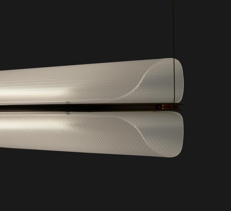Vale 1 dali  caine heintzman suspension pendant light  andlight val 1 p clr rst 27 dal 230  design signed nedgis 89928 product