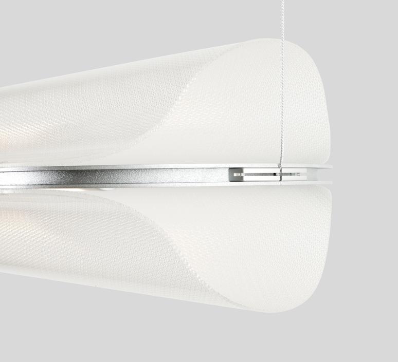 Vale 1 dali  caine heintzman suspension pendant light  andlight val 1 p clr sil 27 dal 230  design signed nedgis 89942 product