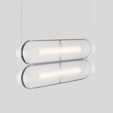 Vale 2 dali  caine heintzman suspension pendant light  andlight val 2 p clr ant 27 dal 230  design signed nedgis 89956 thumb