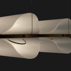 Vale 2 dali  caine heintzman suspension pendant light  andlight val 2 p clr rst 27 dal 230  design signed nedgis 89979 thumb