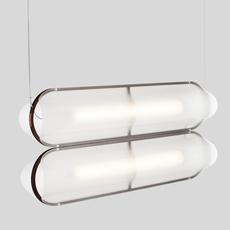 Vale 2 dali  caine heintzman suspension pendant light  andlight val 2 p clr rst 27 dal 230  design signed nedgis 89982 thumb