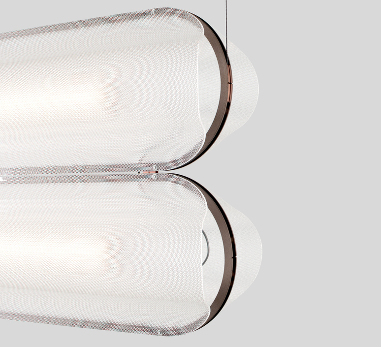 Vale 2 dali  caine heintzman suspension pendant light  andlight val 2 p clr rst 27 dal 230  design signed nedgis 89983 product