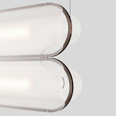 Vale 2 dali  caine heintzman suspension pendant light  andlight val 2 p clr rst 27 dal 230  design signed nedgis 89983 thumb