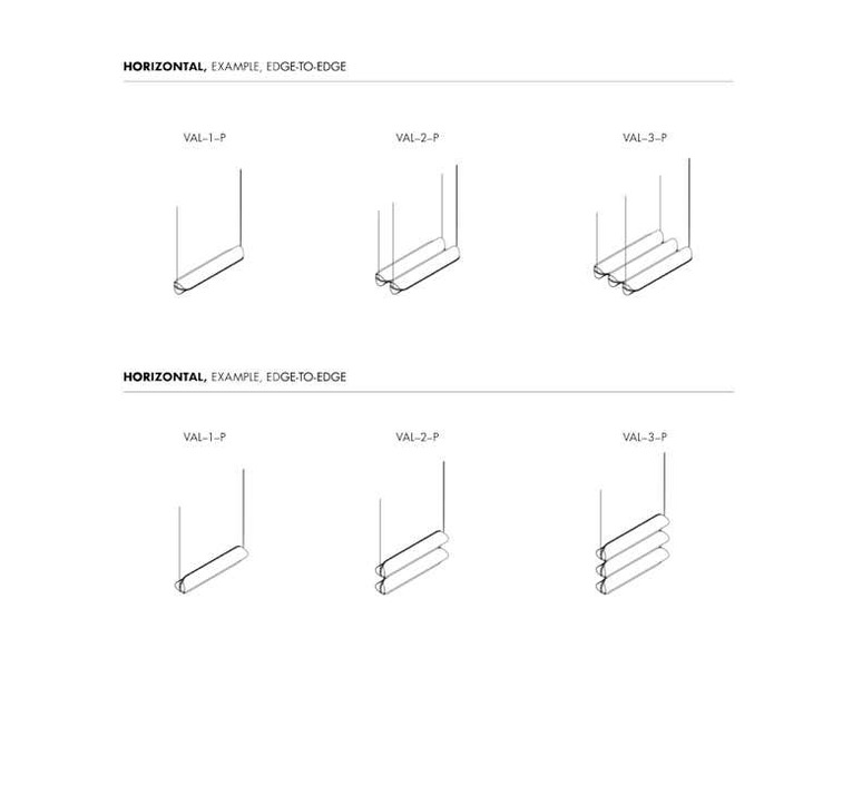 Vale 2 dali  caine heintzman suspension pendant light  andlight val 2 p clr rst 27 dal 230  design signed nedgis 89991 product