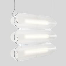 Vale 3 dali  caine heintzman suspension pendant light  andlight val 3 p clr sil 27 dal 230  design signed nedgis 90062 thumb