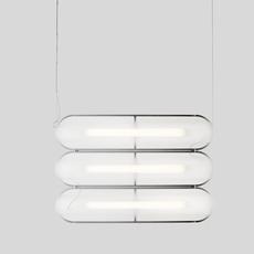 Vale 3dali  caine heintzman suspension pendant light  andlight val 3 p clr ant 27 dal 230  design signed nedgis 90017 thumb