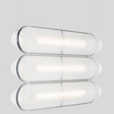 Vale 3dali  caine heintzman suspension pendant light  andlight val 3 p clr ant 27 dal 230  design signed nedgis 90023 thumb