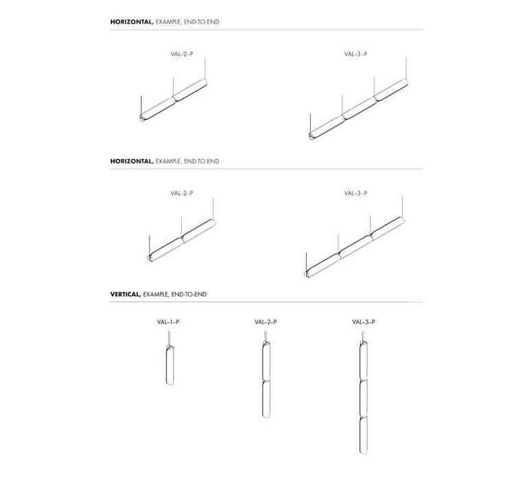 Vale 3dali  caine heintzman suspension pendant light  andlight val 3 p clr ant 27 dal 230  design signed nedgis 90027 product