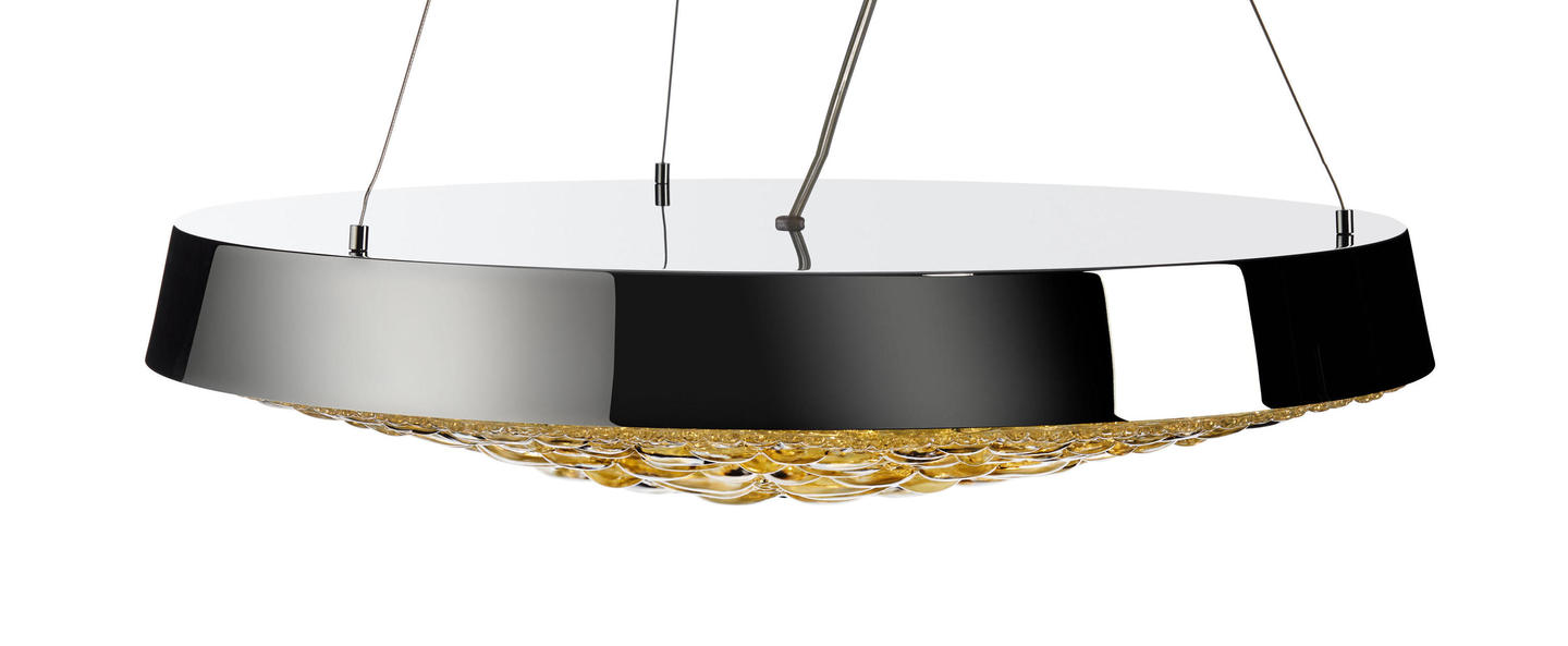 Suspension valentine flat or led o60cm h11cm moooi normal