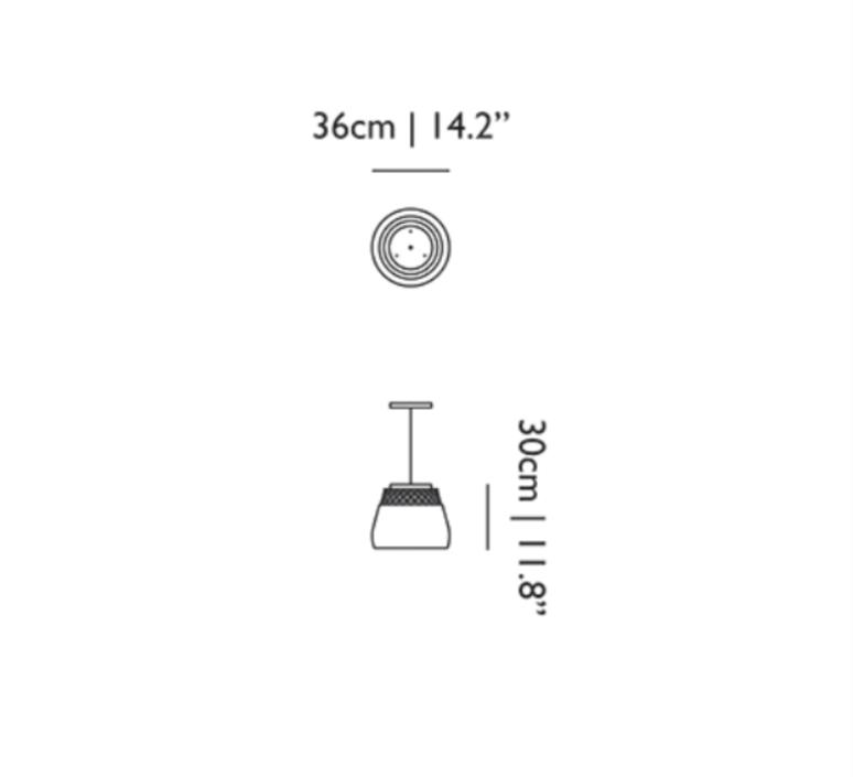 Valentine  suspension pendant light  moooi molva ba  design signed 57267 product