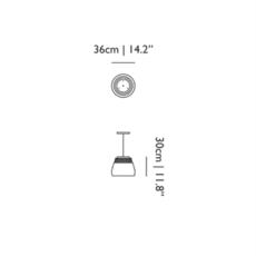 Valentine  suspension pendant light  moooi molva ba  design signed 57267 thumb