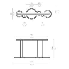 Vegas massimiliano raggi suspension pendant light  contardi acam 001936  design signed nedgis 87285 thumb