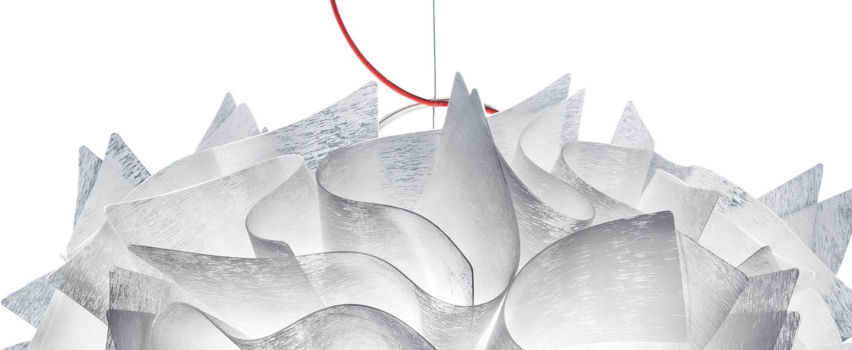 Suspension veli couture l blanc o60cm h50cm slamp normal