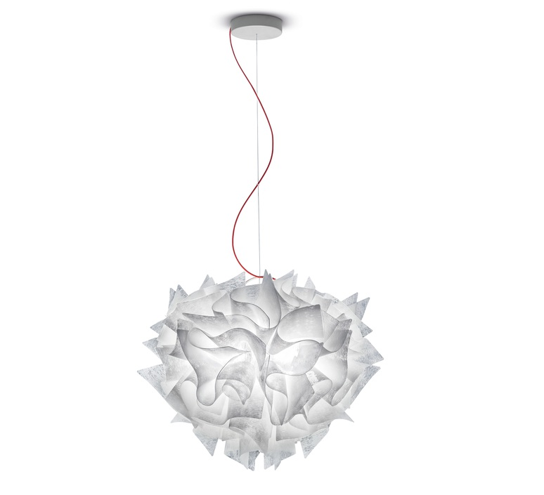 Veli couture l adriano rachele suspension pendant light  slamp vel78sos0003bw000  design signed nedgis 66187 product