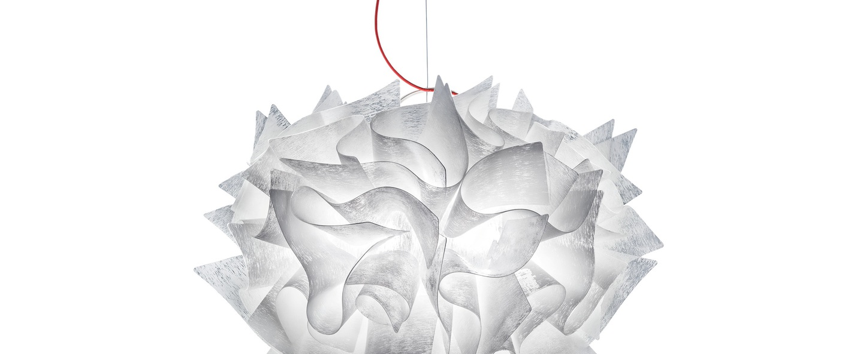 Suspension veli couture m blanc o42cm h36cm slamp normal