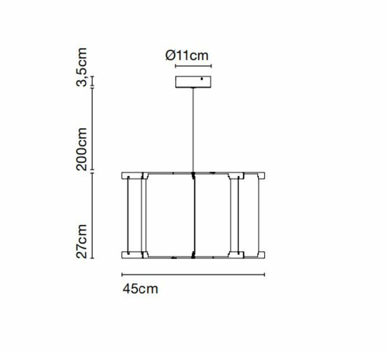 Vetra 43 joan gaspar suspension pendant light  marset a689 033  design signed nedgis 89072 product