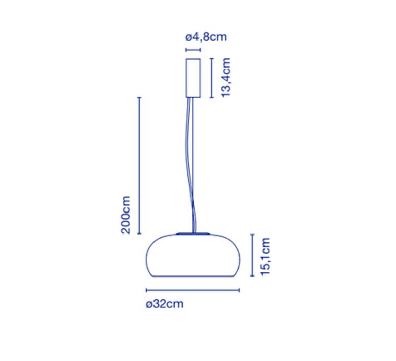 Vetra joan gaspar suspension pendant light  marset a689 002  design signed 53185 product