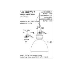 Via rizzo 7 matteo ugolini karman se695gg luminaire lighting design signed 20227 thumb