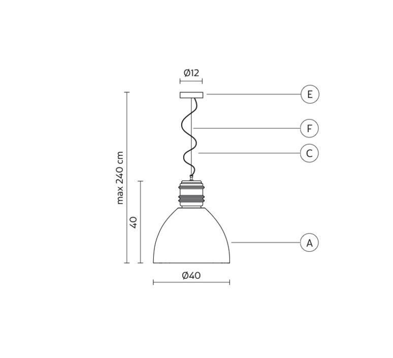 Via rizzo 7 matteo ugolini karman se695gg luminaire lighting design signed 31524 product