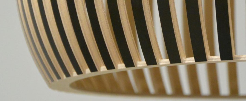Suspension victo noir o56cm secto design normal