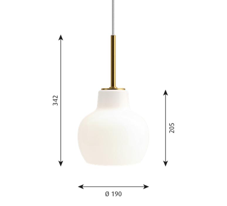 Vl ring crown vilhelm lauritzen  suspension pendant light  louis poulsen vl ring crown 1 40w e27   design signed nedgis 72341 product
