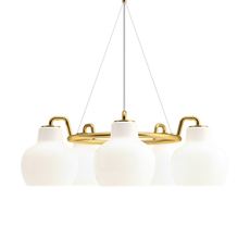 Vl ring crown vilhelm lauritzen  suspension pendant light  louis poulsen vl ring crown 5 5x40w e27  design signed nedgis 72343 thumb