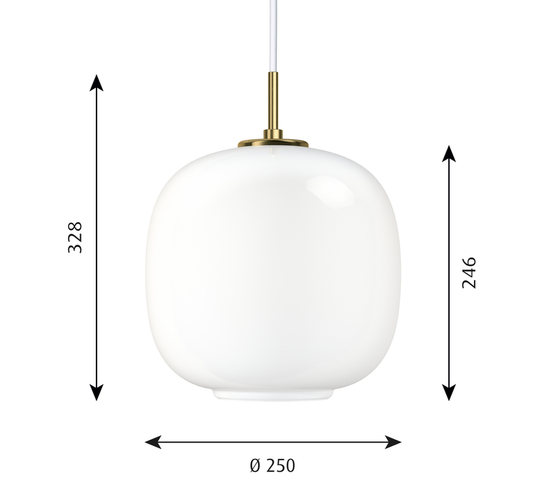 Vl45 s vilhelm lauritzen suspension pendant light  louis poulsen 5741098198  design signed 49027 product