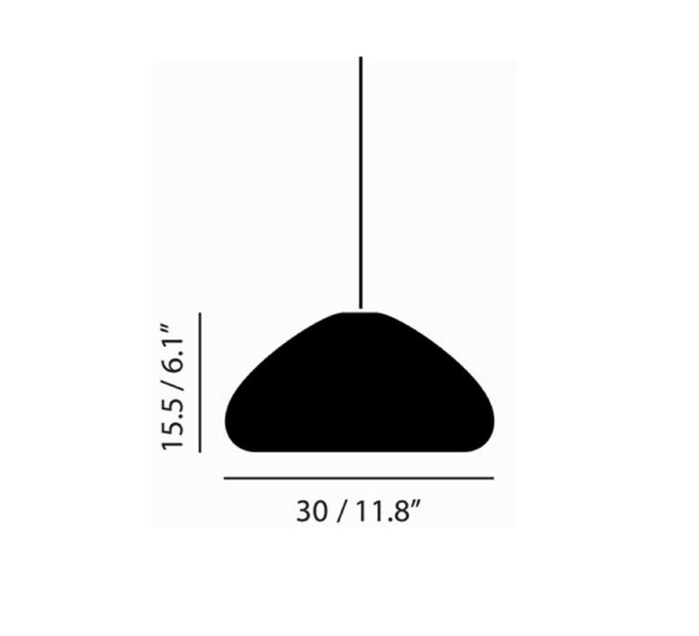 Void  suspension pendant light  tom dixon vos01s peum2  design signed 38493 product
