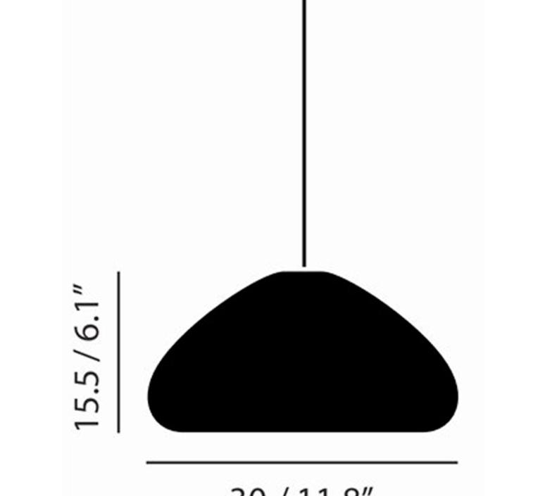 Void  suspension pendant light  tom dixon vos01c peum2  design signed 38492 product