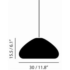 Void  suspension pendant light  tom dixon vos01c peum2  design signed 38492 thumb