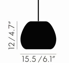 Void mini  suspension pendant light  tom dixon vos02s peum2  design signed 38468 thumb