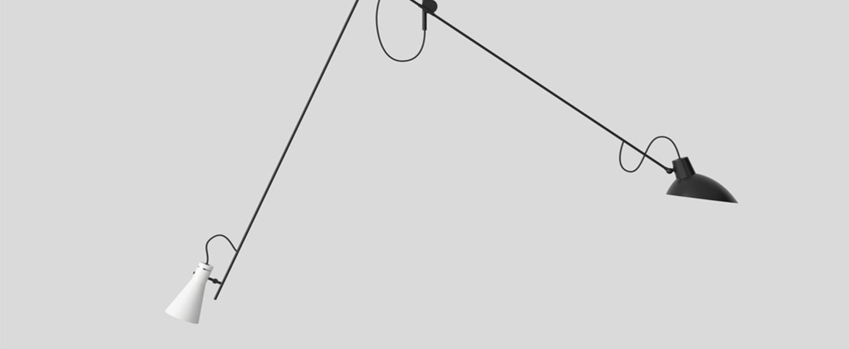 Suspension vv cinquanta noir et blanc l190cm h180cm astep normal