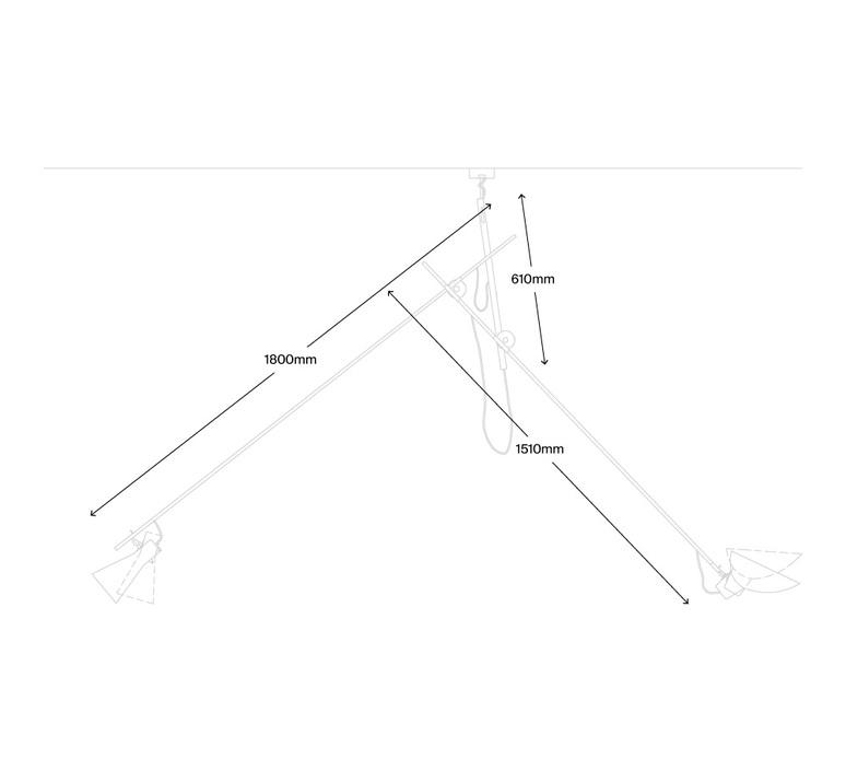 Vv cinquanta vittoriano vigano suspension pendant light  astep t02 s21 01bw  design signed nedgis 78817 product