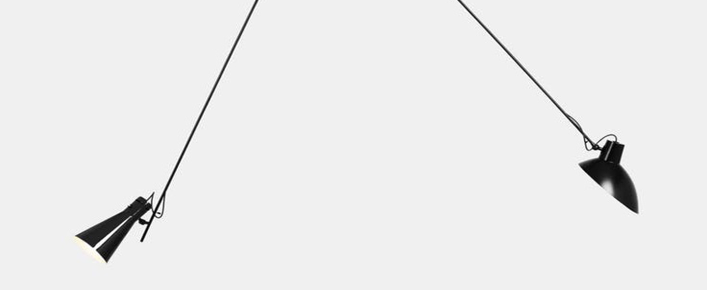 Suspension vv cinquanta noir l190cm h180cm astep normal