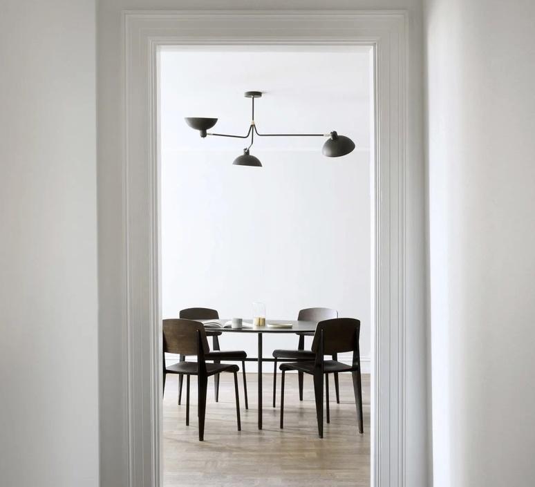 Waldorf triple studio lambert fils suspension pendant light  lambert fils wal07bkbrf  design signed nedgis 112660 product